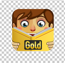 PlayTales Gold Icon Transparent