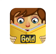 PlayTales Gold Icon White